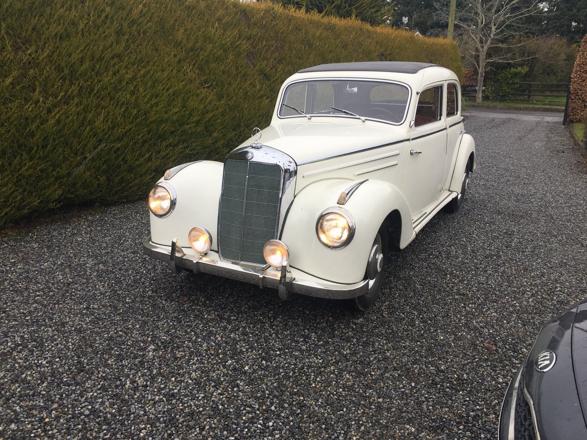 Mercedes 220 1952 For Sale (picture 1 of 6)