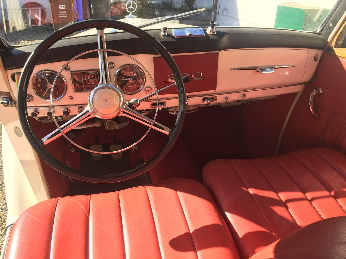Mercedes 220 1952 For Sale (picture 4 of 6)