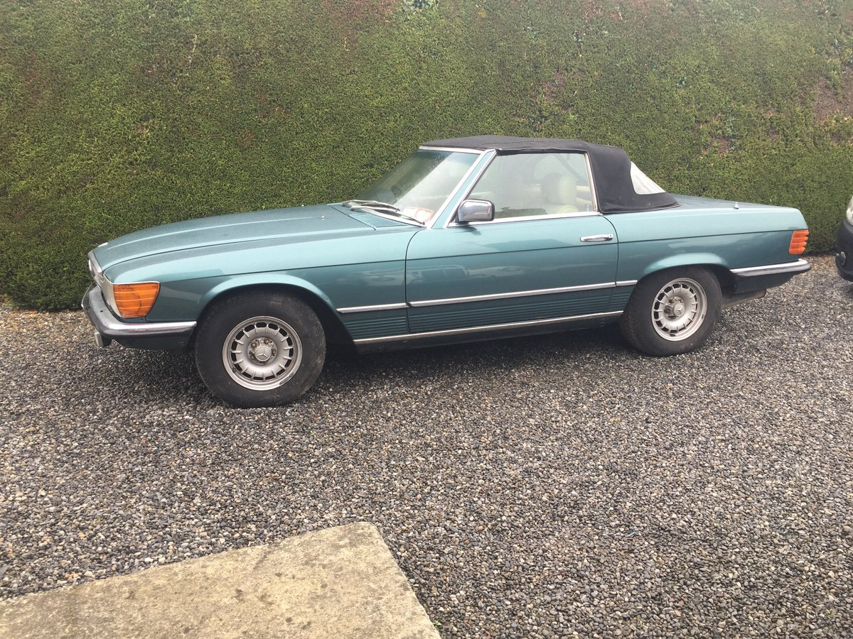 1982 Mercedes 280 SL For Sale (picture 1 of 6)