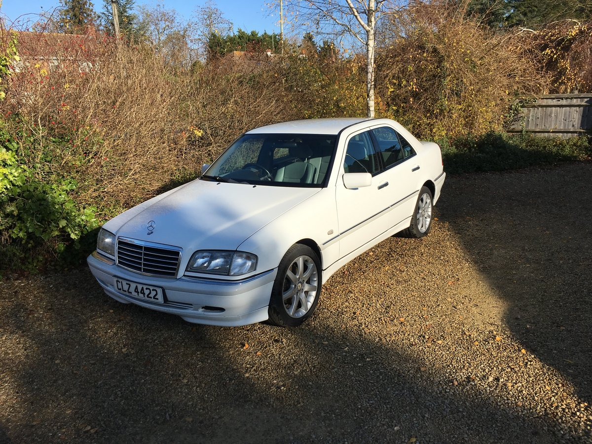 1998 Mercedes C250 Turbo Diesel SOLD (picture 1 of 6)