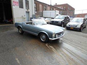 1967 Mercedes 250SL Euro Spec Two Tops For Restoration - For Sale