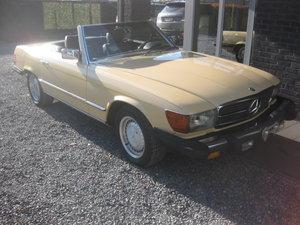 SL380 CABRIO MODEL 107 1982 ROSTFREE! CALIFORNIA ! For Sale