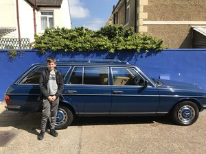 1984 Mercedes w123 estate 5 speed manual SOLD