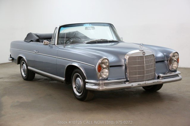 1966 Mercedes-Benz 300SE Cabriolet Right Hand Drive For Sale (picture 1 of 6)