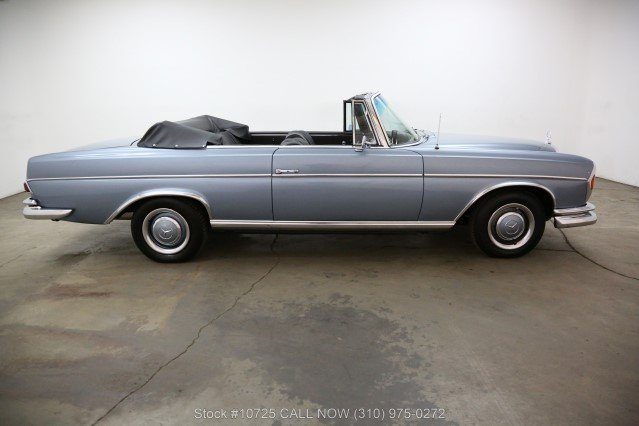 1966 Mercedes-Benz 300SE Cabriolet Right Hand Drive For Sale (picture 2 of 6)