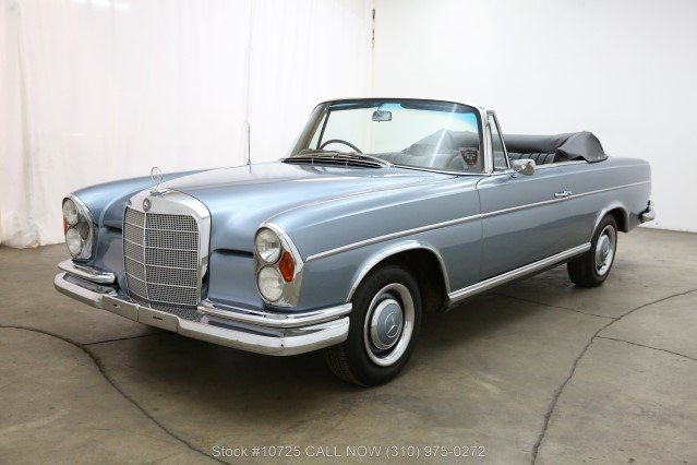 1966 Mercedes-Benz 300SE Cabriolet Right Hand Drive For Sale (picture 3 of 6)
