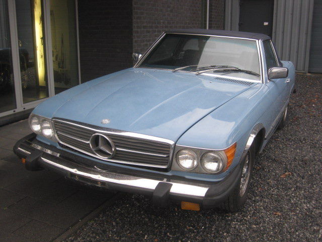 1980 Mercedes SL 450 Cabriolet Model 107, Baby bleu ! For Sale (picture 2 of 6)