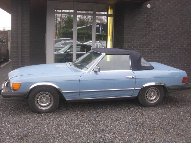 1980 Mercedes SL 450 Cabriolet Model 107, Baby bleu ! For Sale (picture 3 of 6)