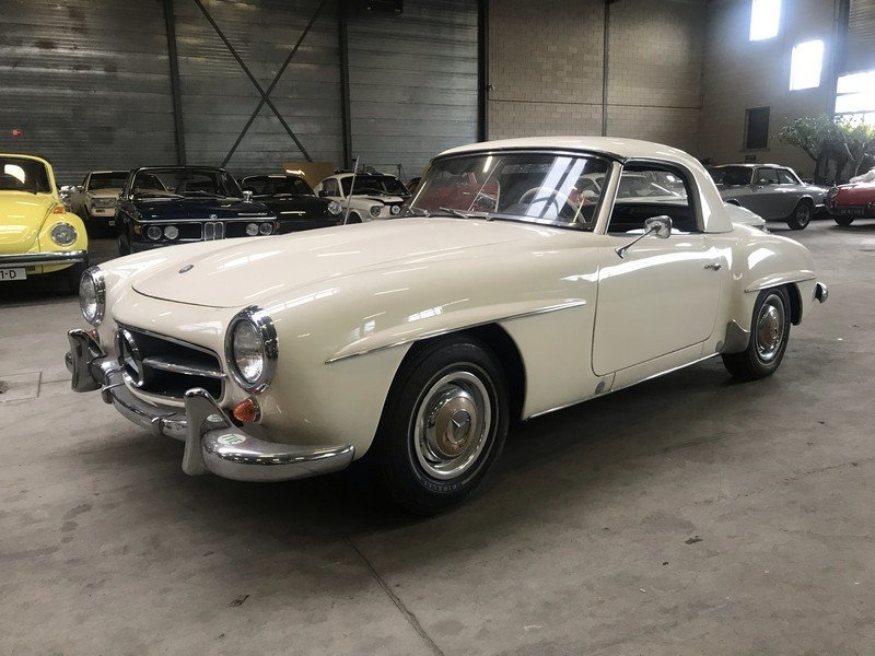 1963 Mercedes Benz 190SL factory Hard-Top, rebuild engine For Sale (picture 1 of 6)