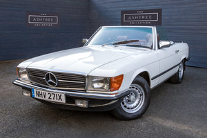 1982 Mercedes 500SL  only 32000 miles W107