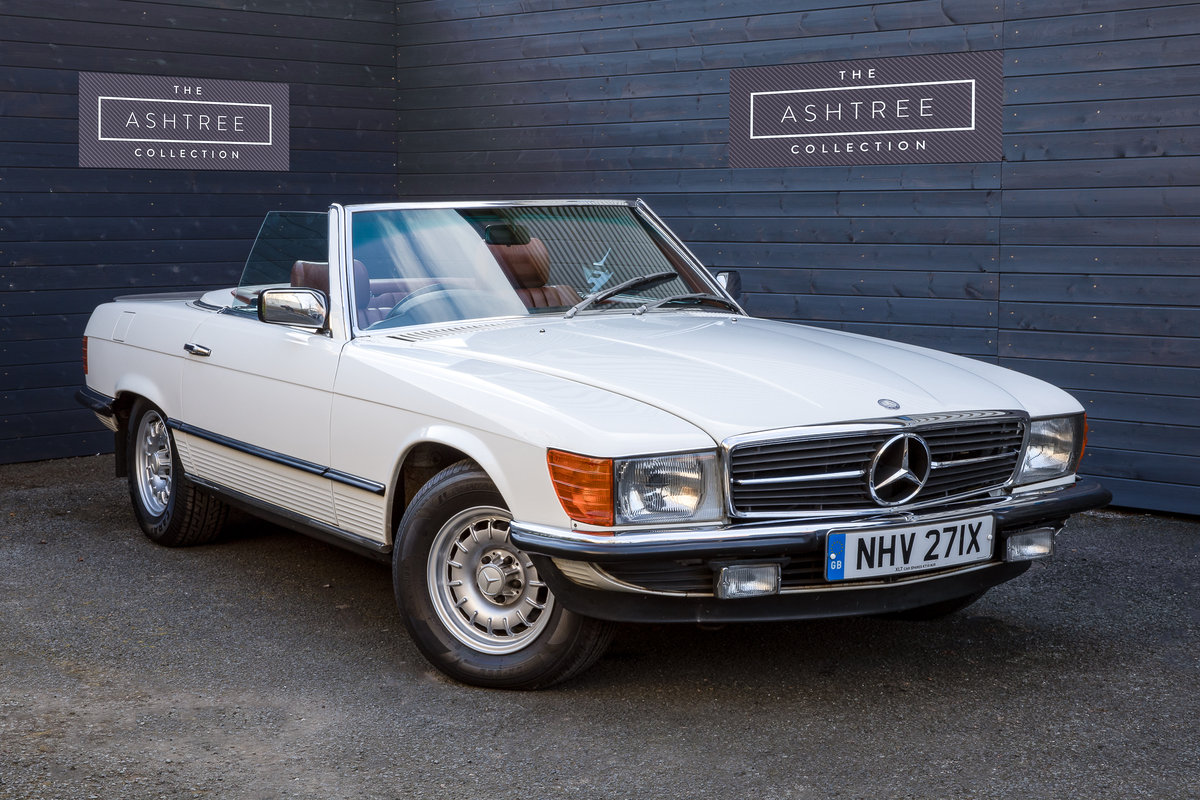 1982 Mercedes 500SL  only 32000 miles W107 For Sale (picture 2 of 6)