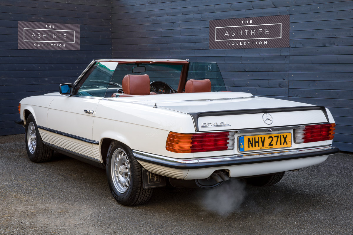 1982 Mercedes 500SL  only 32000 miles W107 For Sale (picture 3 of 6)