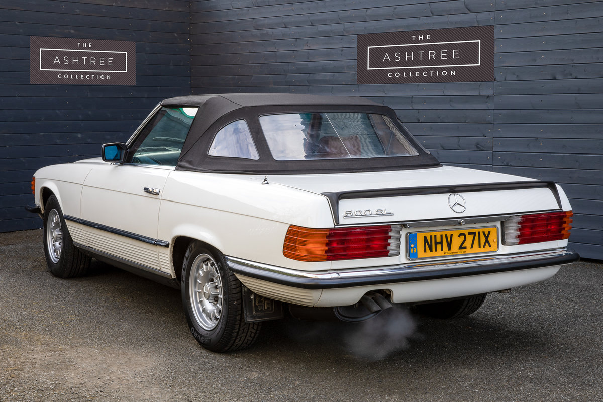 1982 Mercedes 500SL  only 32000 miles W107 For Sale (picture 4 of 6)