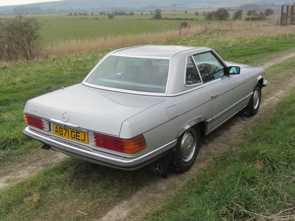 1984 Mercedes 380SL with just 48k miles from new  For Sale (picture 1 of 6)