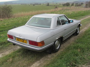 1984 Mercedes 380SL with just 48k miles from new  SOLD