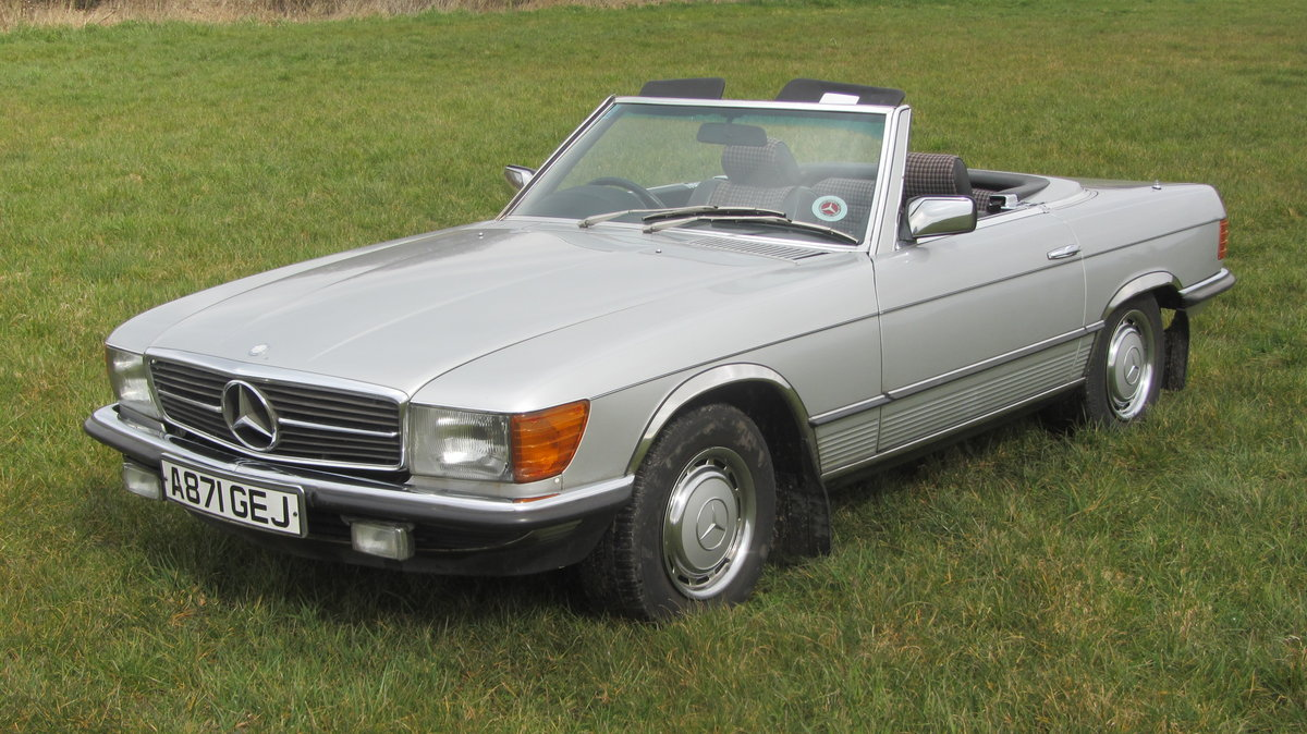 1984 Mercedes 380SL with just 48k miles from new  For Sale (picture 2 of 6)