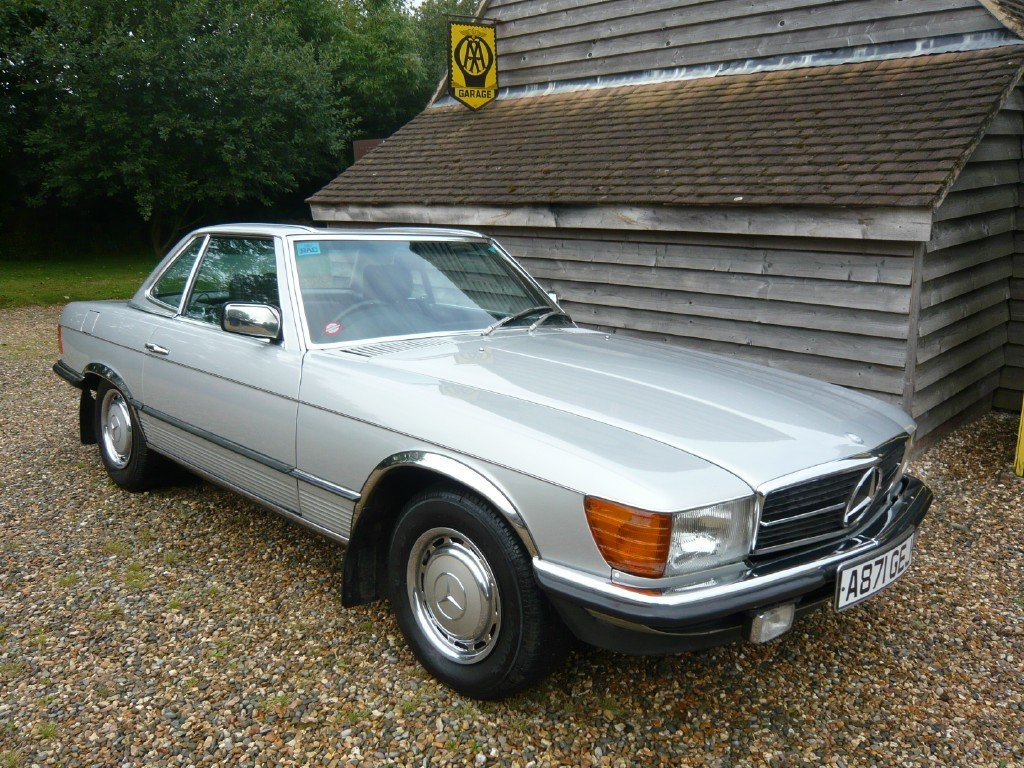 1984 Mercedes 380SL with just 48k miles from new  For Sale (picture 3 of 6)