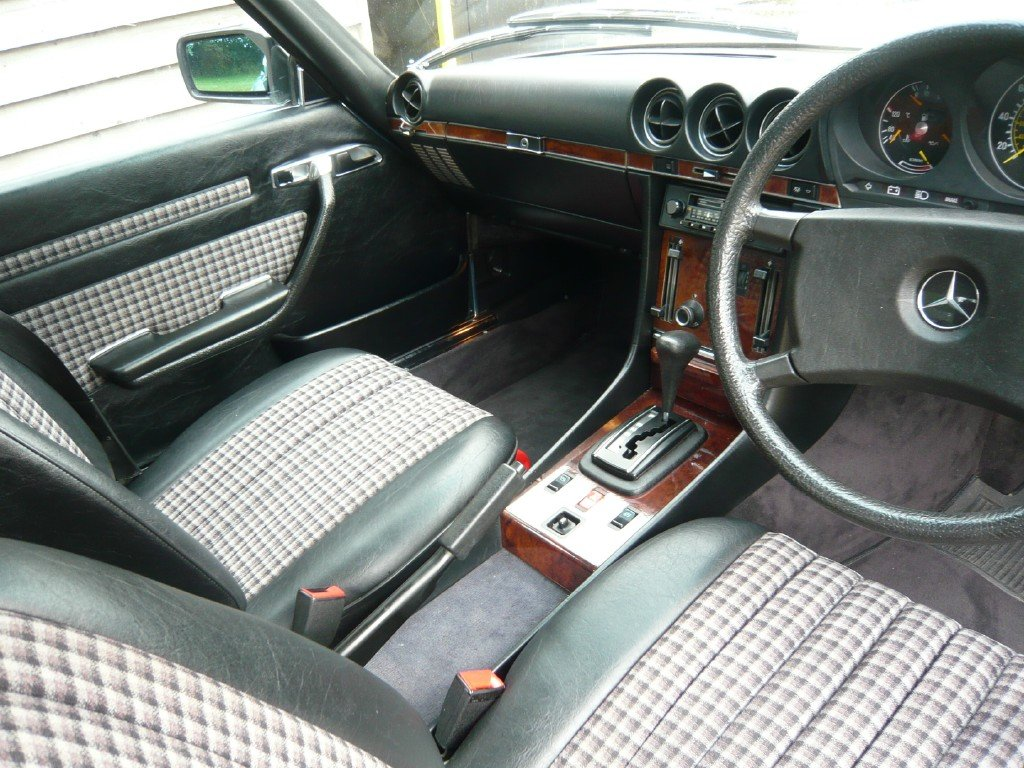 1984 Mercedes 380SL with just 48k miles from new  For Sale (picture 6 of 6)