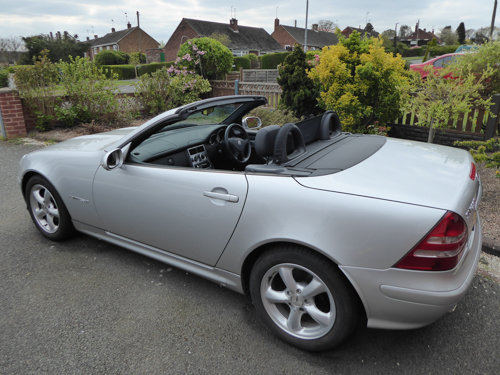 2002 Excellent Silver SLK 230 (170) Automatic 38k miles SOLD (picture 1 of 6)