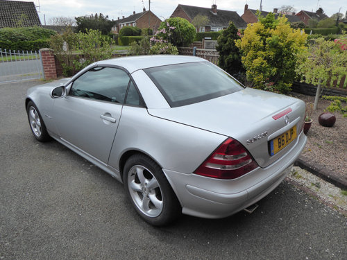 2002 Excellent Silver SLK 230 (170) Automatic 38k miles For Sale (picture 2 of 6)