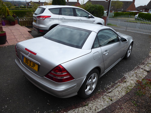 2002 Excellent Silver SLK 230 (170) Automatic 38k miles SOLD (picture 3 of 6)