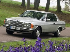 1985 Mercedes Benz 280CE (W123) Automatic Silver For Sale