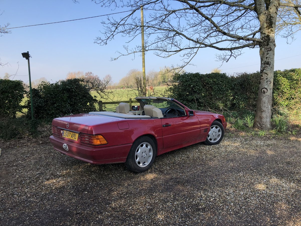 1993 Mercedes 280SL For Sale (picture 4 of 6)