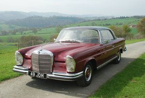 1964 Mercedes-Benz 220 SEb fixedhead coupé W111/112  For Sale by Auction