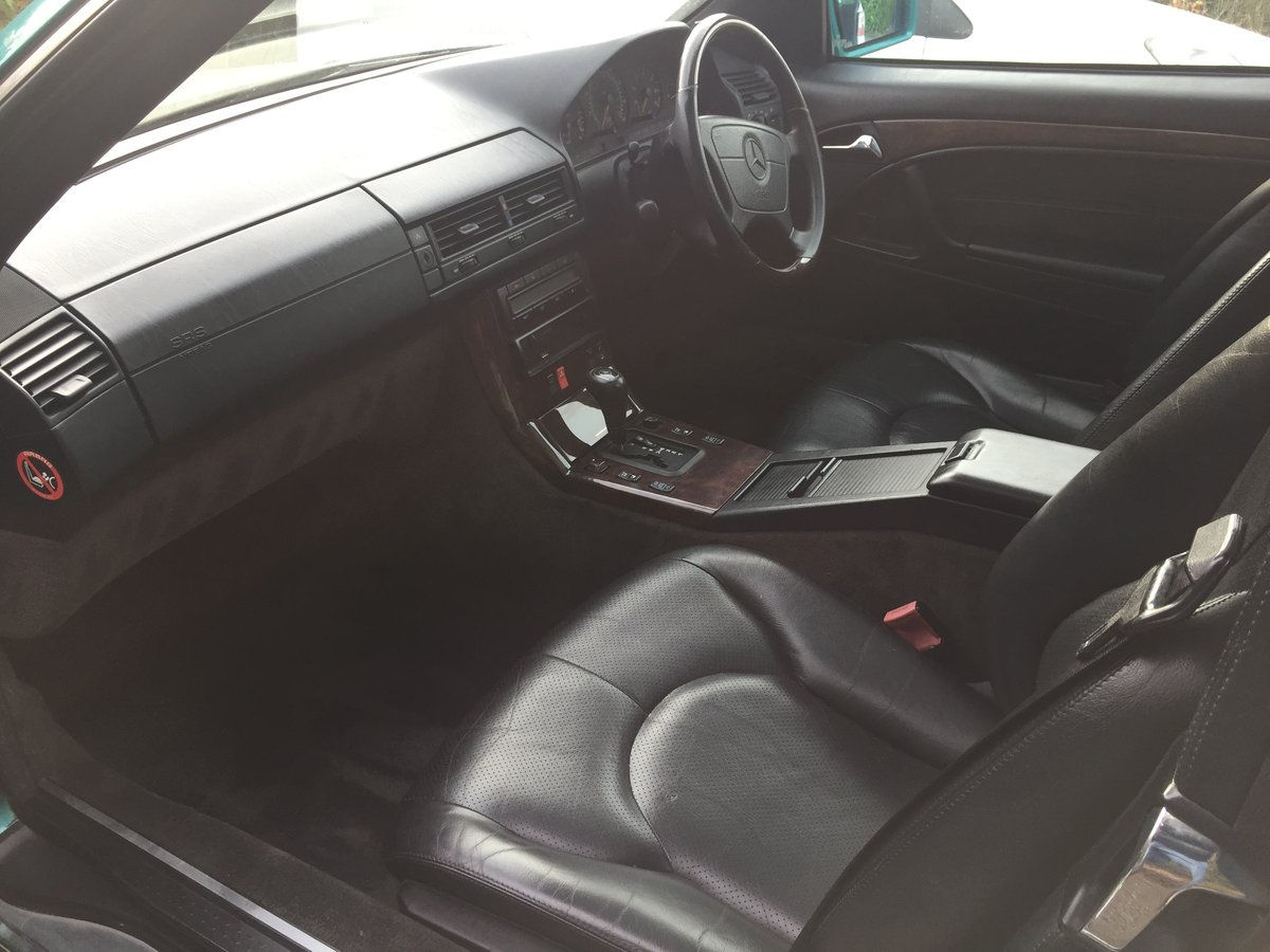 1996 MERCEDES SL320 AMG FACTORY SOLD (picture 5 of 6)