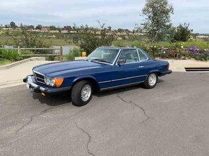 1984 Mercedes 380SL  = 1 owner 8.1k miles Blue $39.9k For Sale