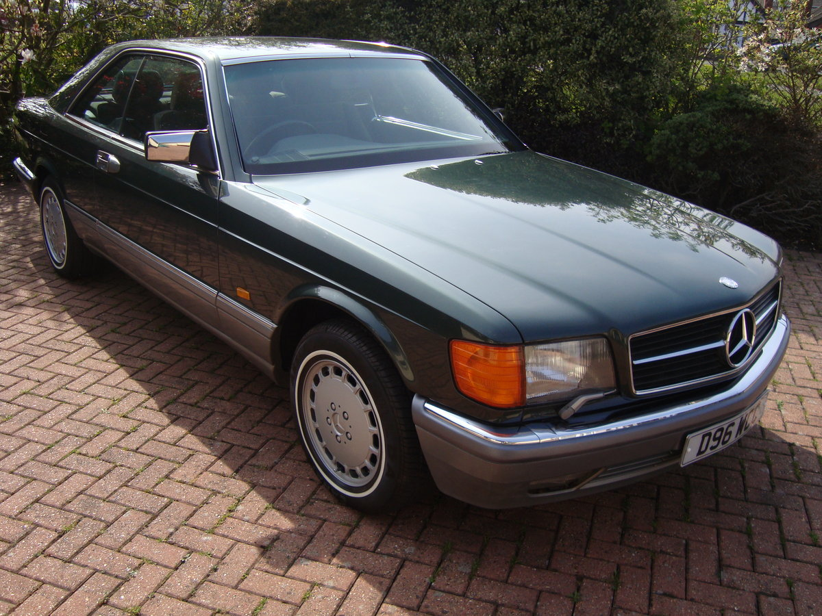 1987 Mercedes 500 sec. For Sale (picture 1 of 6)
