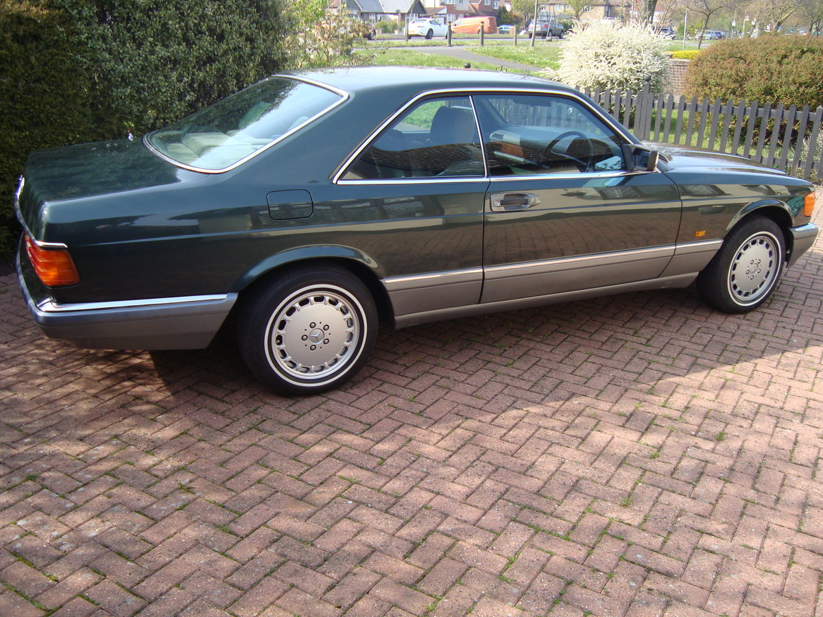 1987 Mercedes 500 sec. For Sale (picture 3 of 6)