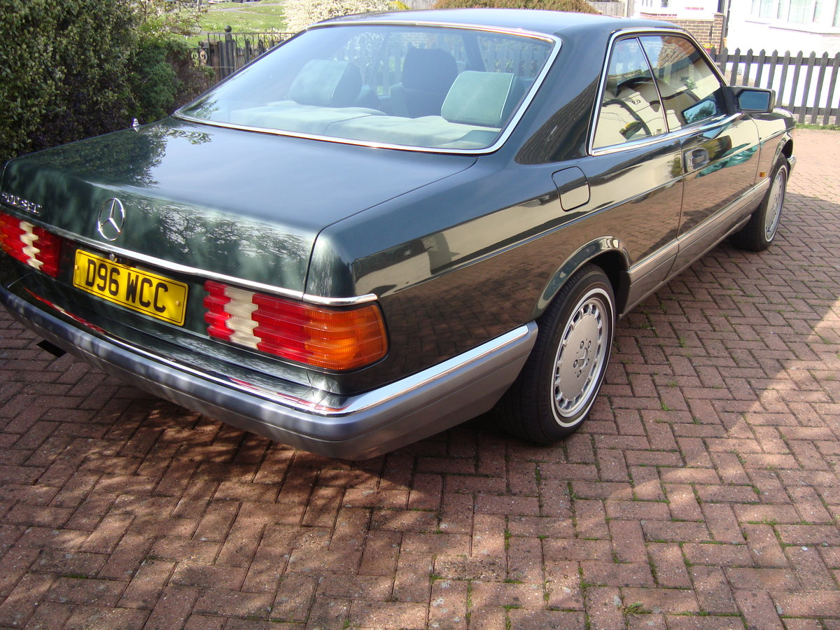1987 Mercedes 500 sec. For Sale (picture 4 of 6)
