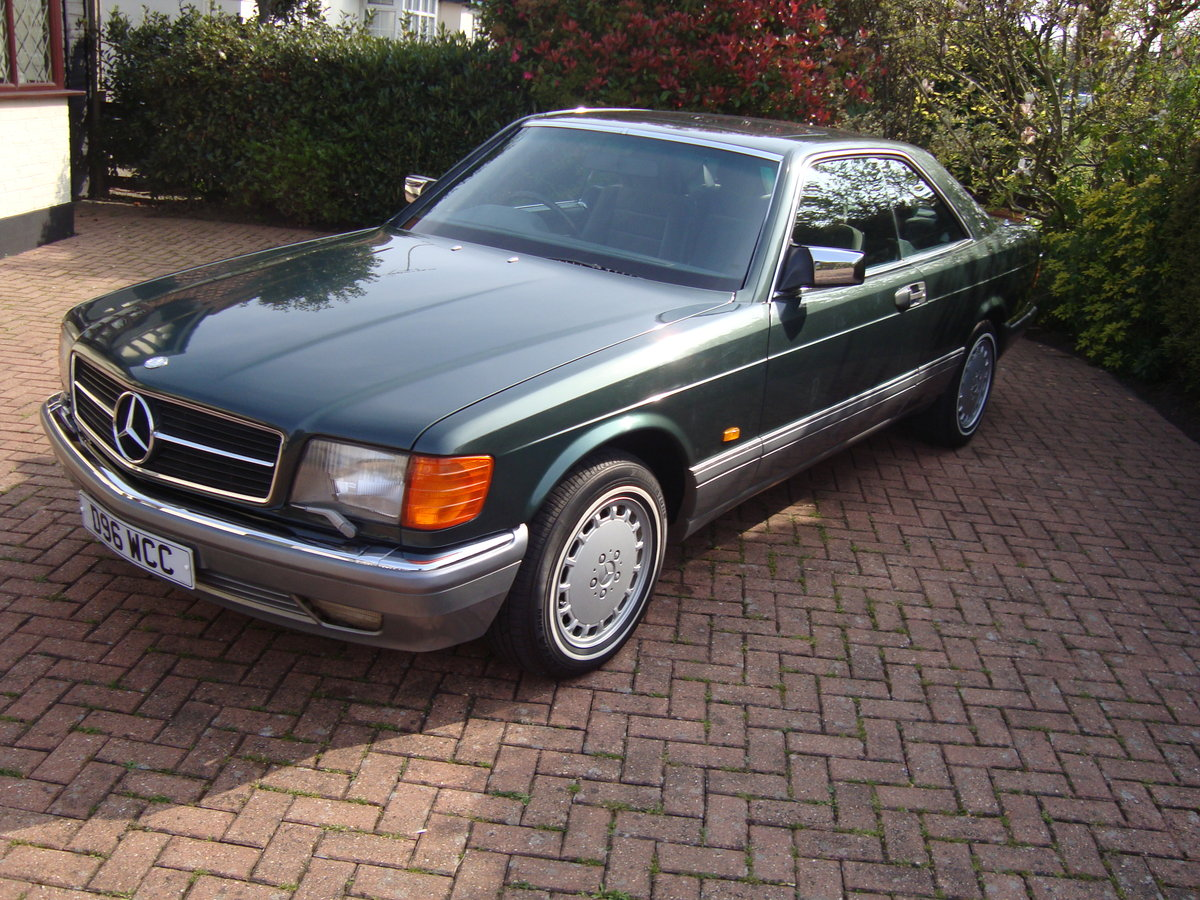 1987 Mercedes 500 sec. For Sale (picture 6 of 6)
