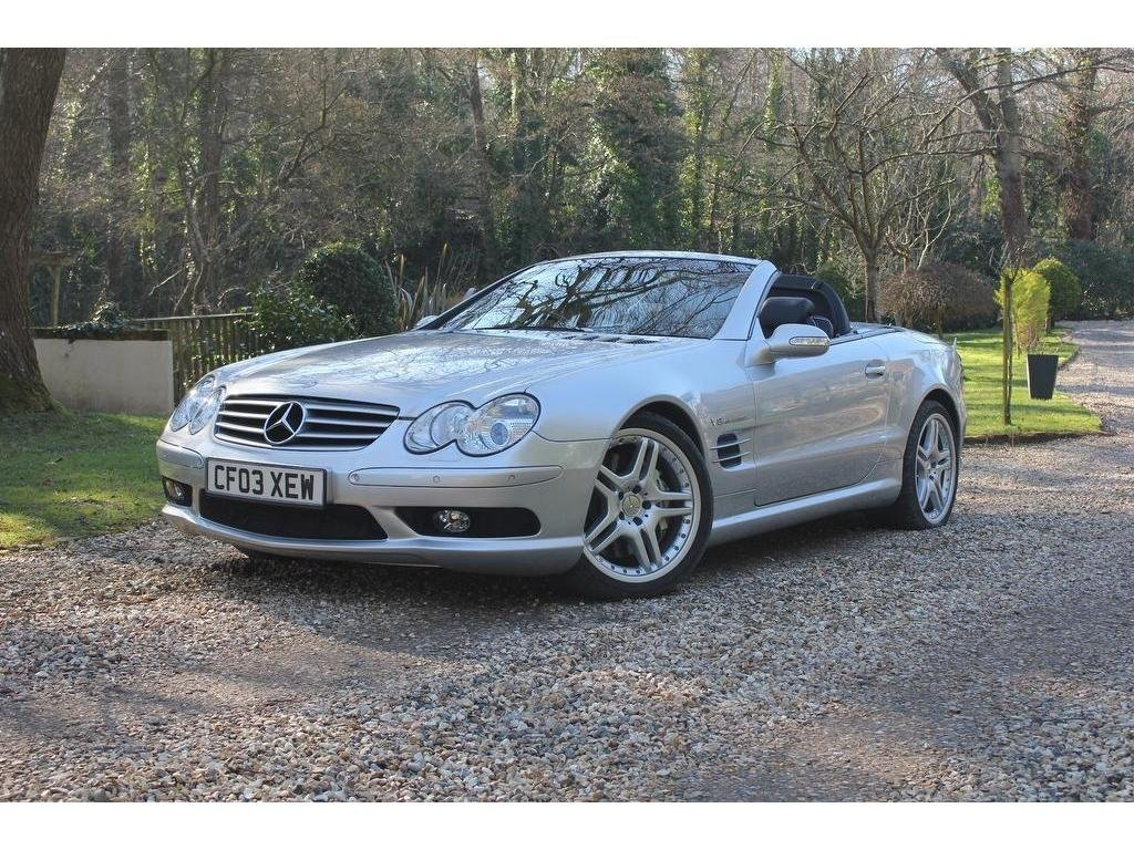 2003 Mercedes-Benz SL Class 5.4 SL55 Kompressor AMG 2dr INVESTMEN For Sale (picture 1 of 1)