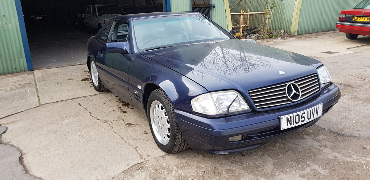 1996 ***Mercedes-Benz SL600 V12 July 20th*** For Sale by Auction (picture 2 of 6)