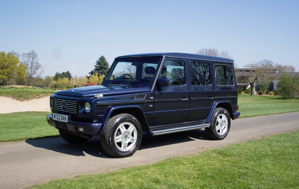 2000 Mercedes G500LRW RHD 9 seater SOLD (picture 1 of 6)