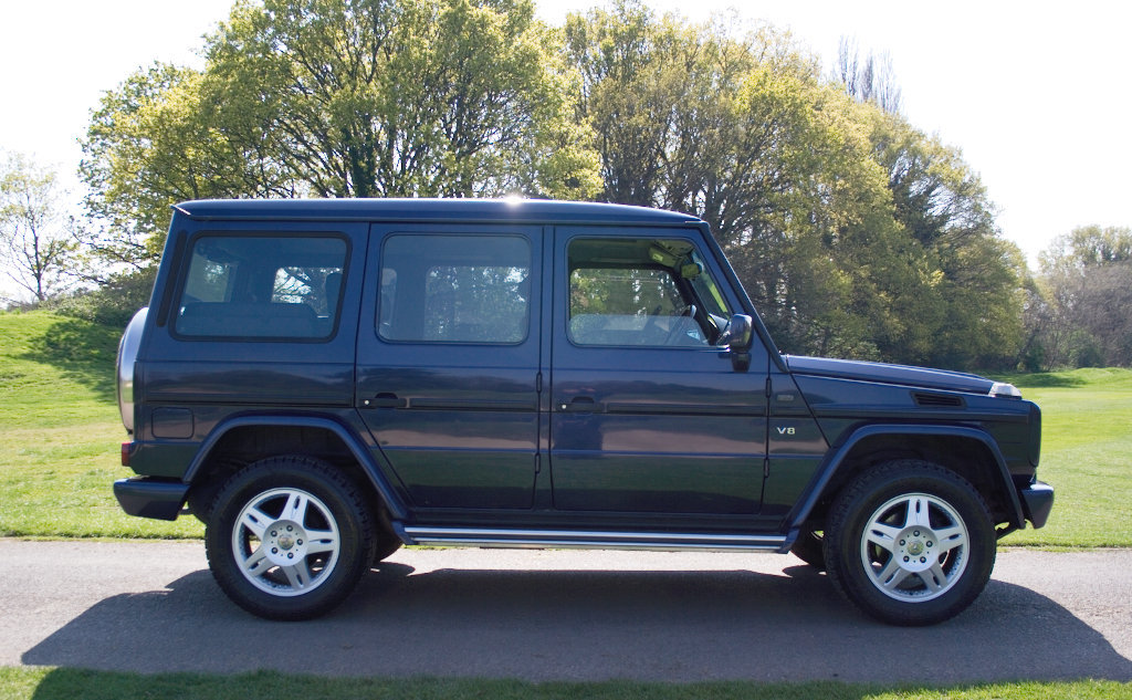 2000 Mercedes G500LRW RHD 9 seater SOLD (picture 2 of 6)