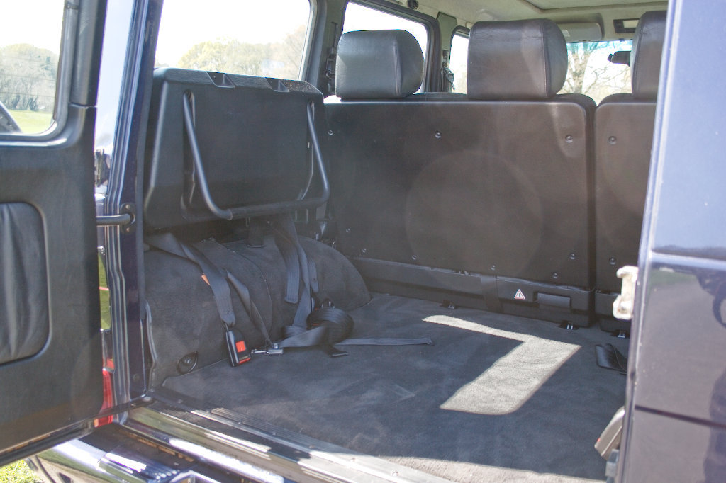 2000 Mercedes G500LRW RHD 9 seater SOLD (picture 5 of 6)