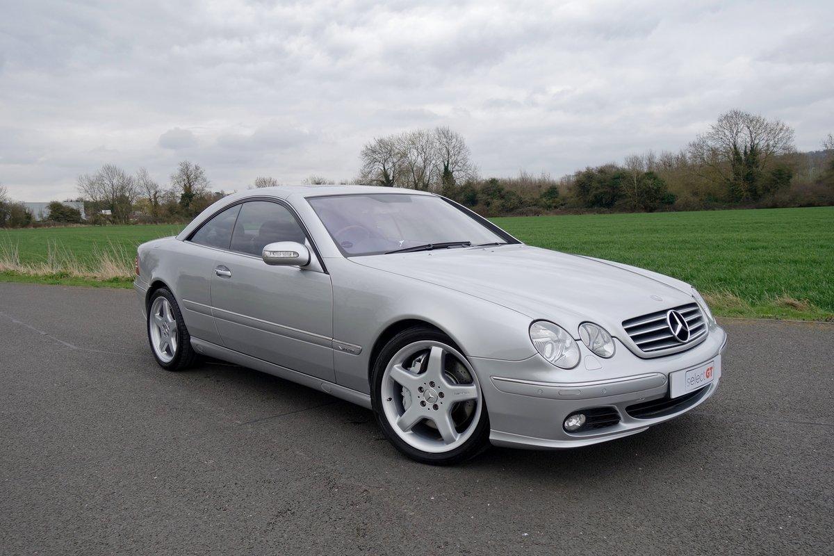 2005 Mercedes CL600 5.5 V12 Bi-Turbo For Sale | Car And ...