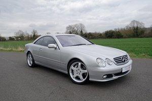 2005 Mercedes CL600 5.5 V12 Bi-Turbo