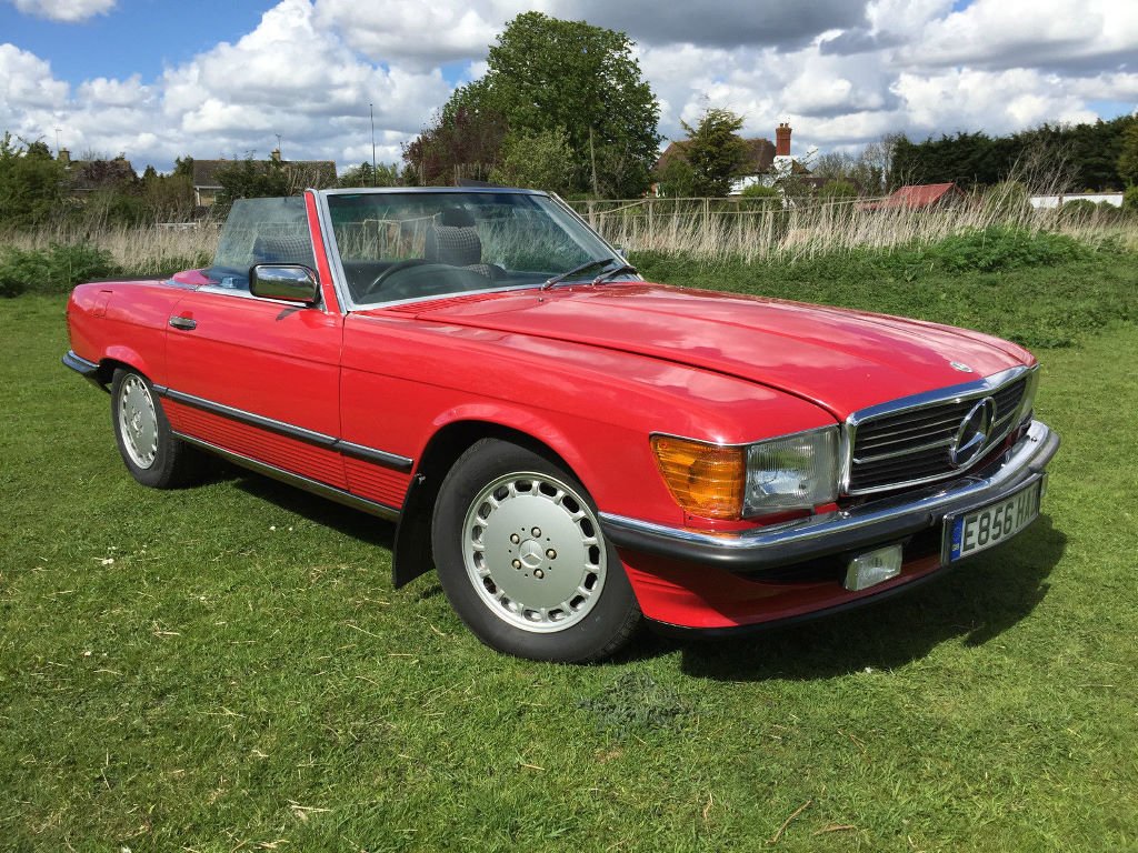 A 1987 Mercedes-Benz 300SL - 23/06/2019 For Sale by Auction (picture 1 of 6)