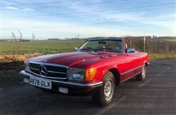 1983 280SL - Barons Sandown Pk Tuesday 30th April 2019 For Sale by Auction