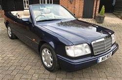 1996 W124 E220 Conv - Barons Sandown Pk Tues 30 April 2019 For Sale by Auction