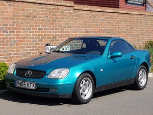 2000 MERCEDES SLK 200 AUTO CONVERTIBLE LHD - LEFT HAND DRIVE 74K  For Sale