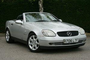 1998 Mercedes Benz SLK 230 Kompressor Auto SOLD