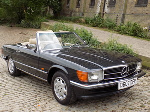 1986 MERCEDES BENZ 420 SL (R107 Series) SPORTS CONVERTIBLE SOLD