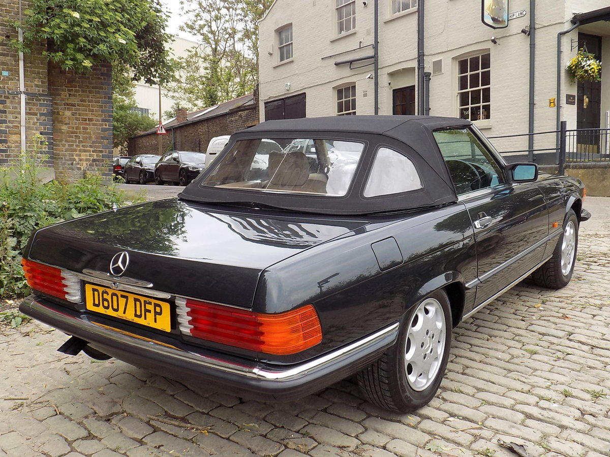 1986 MERCEDES BENZ 420 SL (R107 Series) SPORTS CONVERTIBLE For Sale (picture 2 of 6)