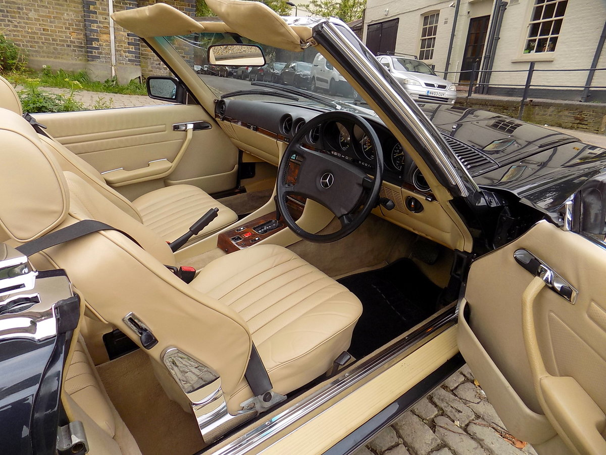 1986 MERCEDES BENZ 420 SL (R107 Series) SPORTS CONVERTIBLE For Sale (picture 3 of 6)