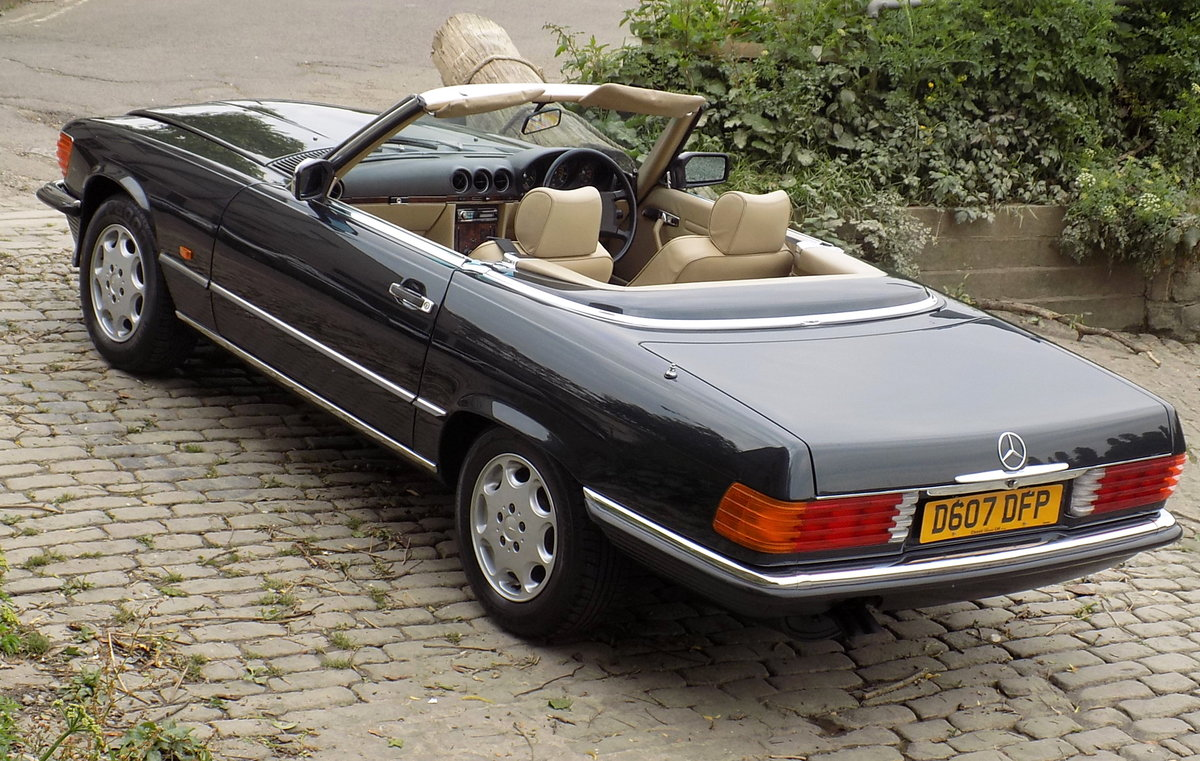 1986 MERCEDES BENZ 420 SL (R107 Series) SPORTS CONVERTIBLE For Sale (picture 5 of 6)
